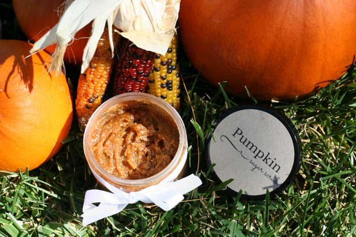 DIY Pumpkin Sugar Scrub Recipe | SimplePureBeauty.com