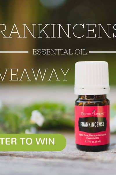 Frankincense Essential Oil Giveaway