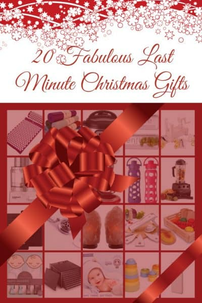 20 Fabulous Last Minute Christmas Gifts! Get them in the nick of time...