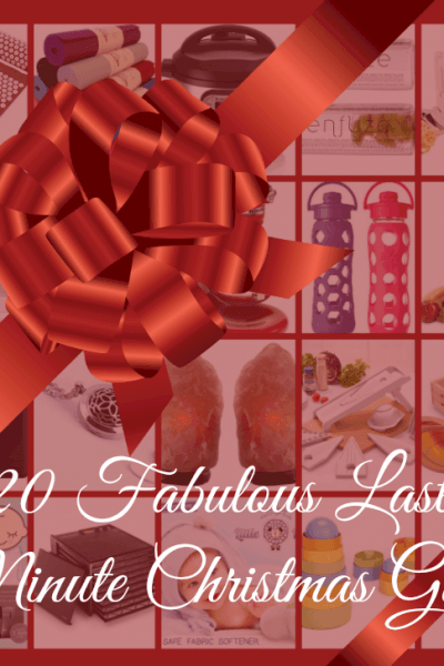 20 Fabulous Last Minute Christmas Gifts! Get them in the nick of time…