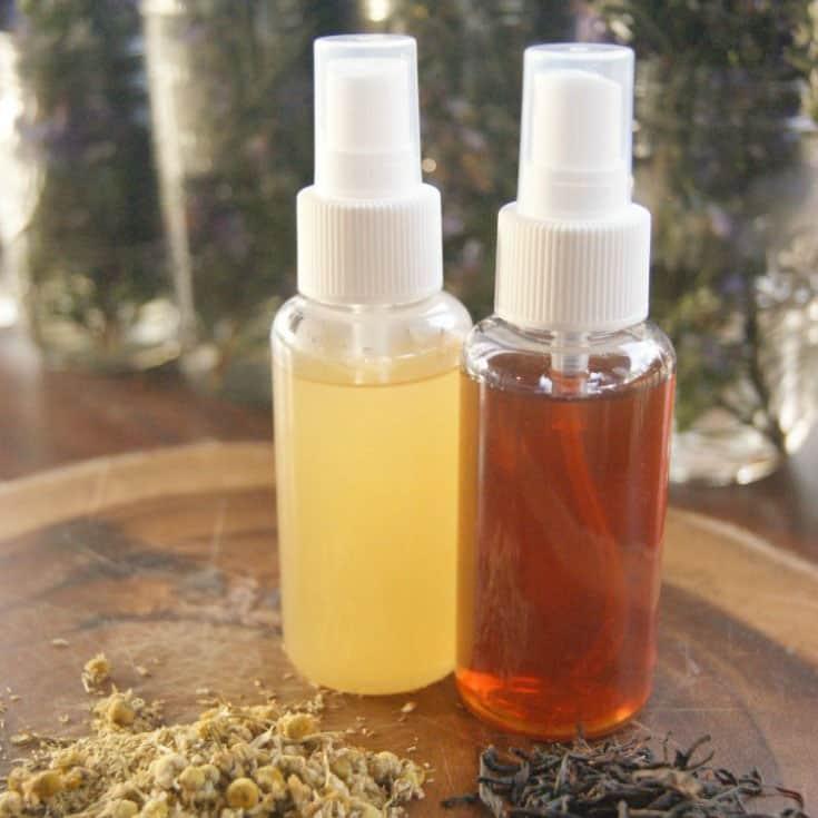 DIY Nourishing Hairspray | SimplePureBeauty.com