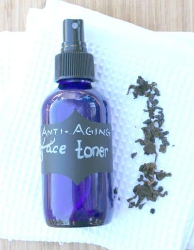 Simple DIY Anti-Aging Facial Toner