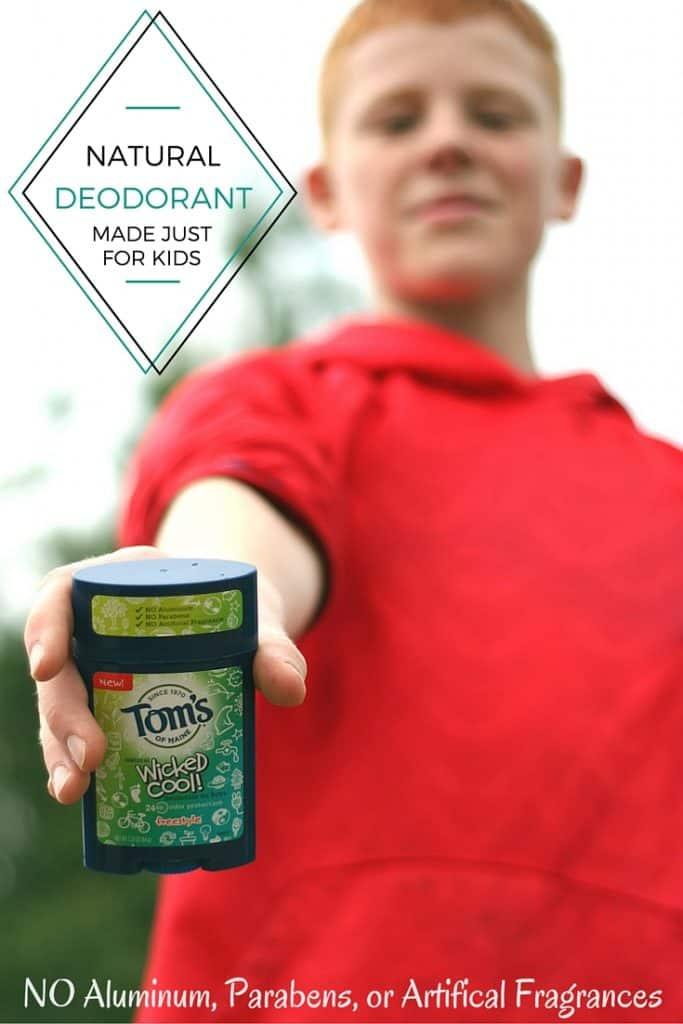 Aluminum & Paraben Free Deodorant for Kids | SimplePureBeauty.com