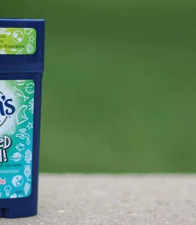 Aluminum & Paraben Free Deodorant for Kids