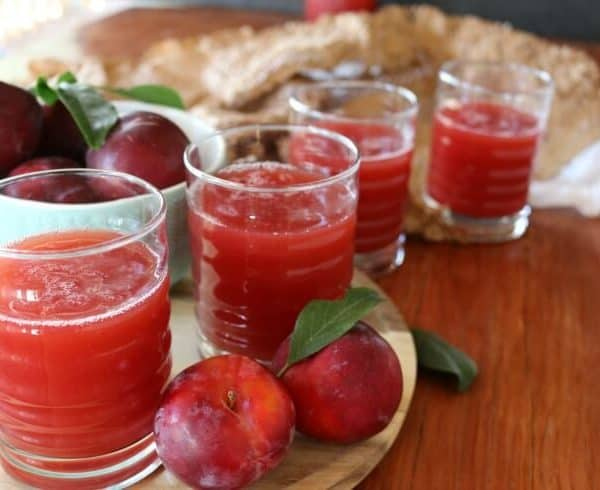 Easy Plum Nectar Juice Recipe