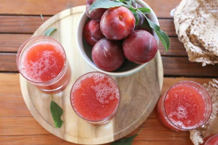 This easy Plum Nectar recipe will quench your thirst this summer while not creating any waste. Unlike regular juice, you'll puree the fruit for an amazing texture.