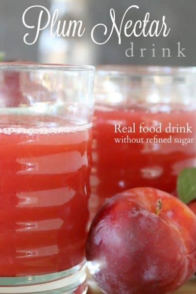 Easy Plum Nectar Juice Recipe
