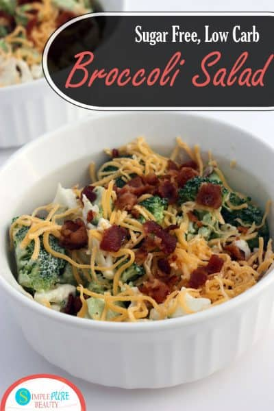 Sugar-Free Keto Broccoli Salad Recipe