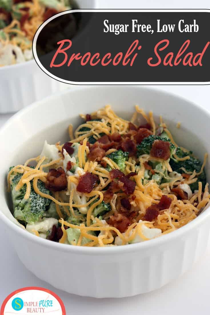 A few quick ingredient swaps mean you can enjoy traditional broccoli salad on a low-carb or sugar-free diet. This recipe will have you enjoying a quick and refreshing summer lunch today.
