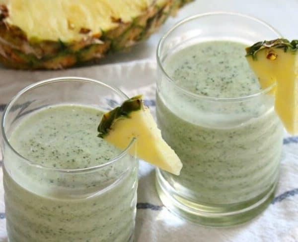 Nutrient-Dense Kale Pineapple Smoothie Recipe