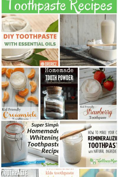 15 Homemade Toothpaste Recipes