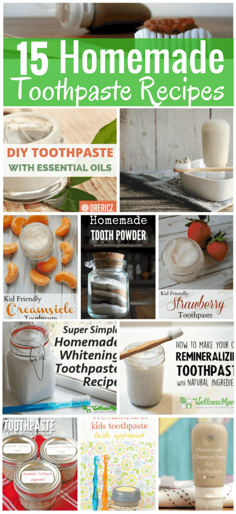 Whether you're looking to whiten teeth without harsh bleach, needing a new flavor, or wanting to help ease a cavity, we've got a recipe for you. Check out these options for DIY toothpaste recipes that fit every taste, budget, and allergy.