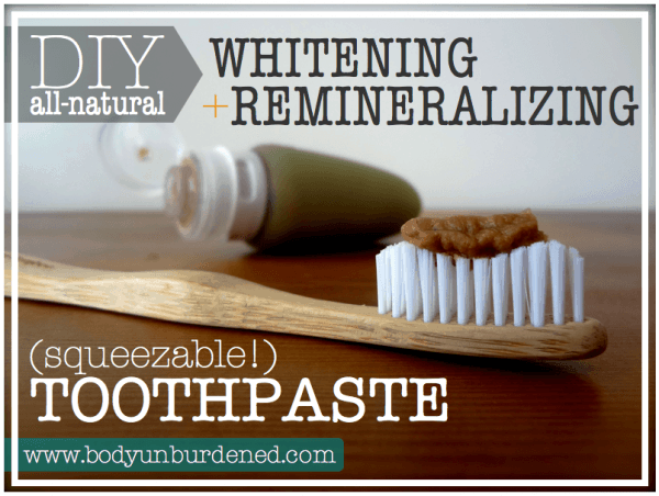 It might be brown, but it's good for your teeth. You'll love it so much you'll get used to the color - and check out the neat non-plastic toothbrush that's recommended.