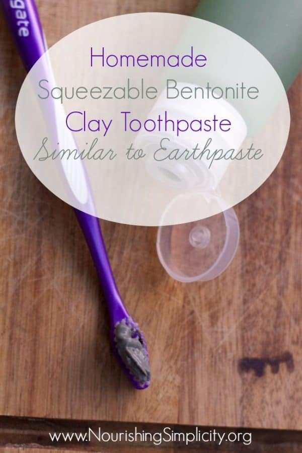 So often, DIY toothpaste is thick, and best used from a jar. Check out this recipe that has a squeezable texture and find out which tubes are easy to use.