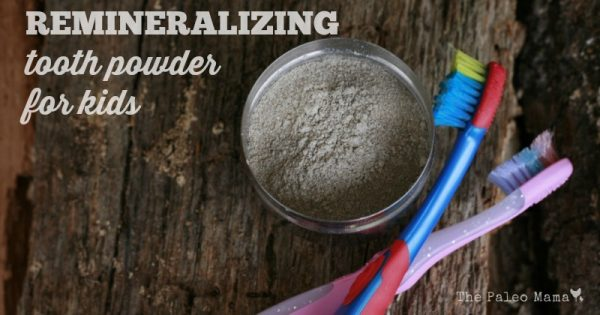 Remineralizing your teeth calls for certain ingredients and avoiding even some natural sweeteners. Make your own toothpowder that's safe for kids.