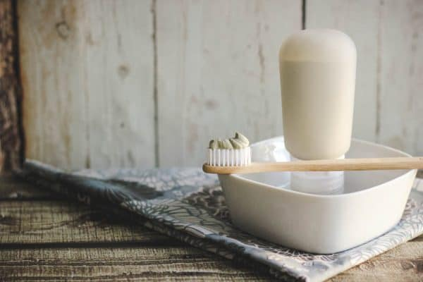This recipe adds extra ingredients that just might help remineralize your teeth. Not all dentists believe this claim, but it certainly can't hurt!