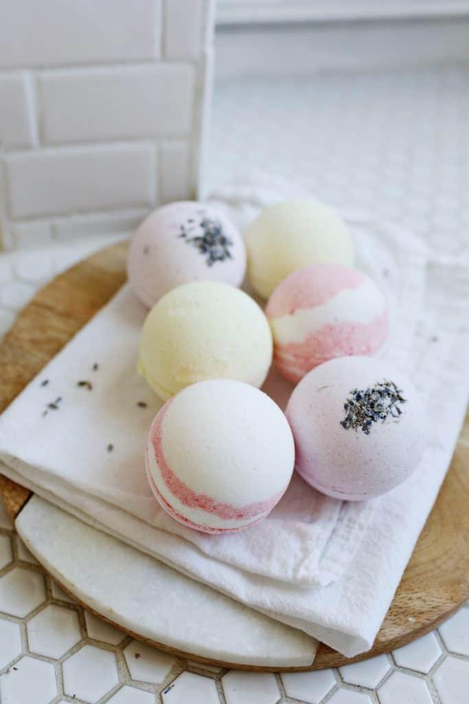 Homemade Bath Bombs The Kitchen