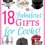 Need some gift ideas for the cook in your family? Look no further! Check out these fabulous gifts to save your cooktons of time and energy in the kitchen! #kitchen #gifts #gadgets #christmas #birthday #mothersday #fathersday #cook