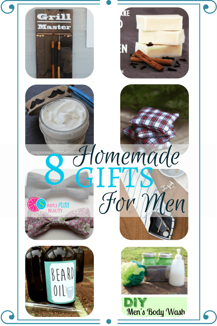 8 homemade gifts for men simple pure beauty for Easy gifts for men