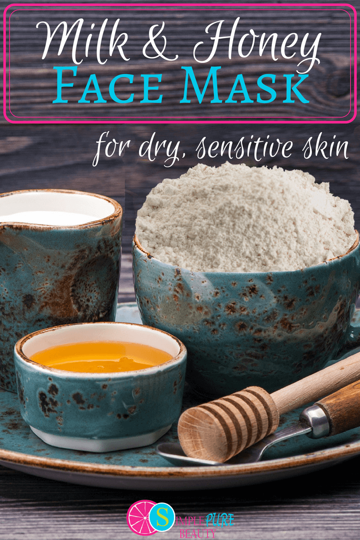 This homemade face mask is the perfect DIY for dry, sensitive skin. Carefully selected ingredients nourish damaged skin and help retain moisture.