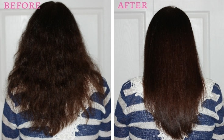 If you're spending too much time blow drying and straightening your curly locks, I'm going to show you how to get sleek, straight hair in under 5 minutes!