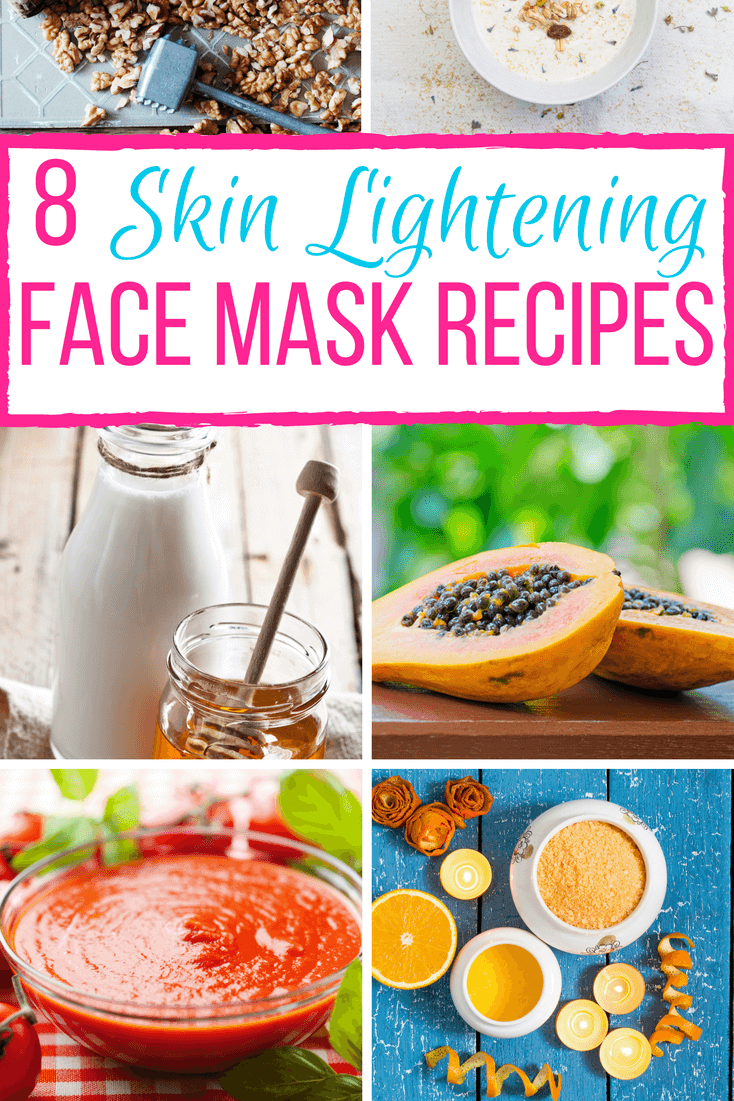 8 Diy Skin Lightening Face Masks
