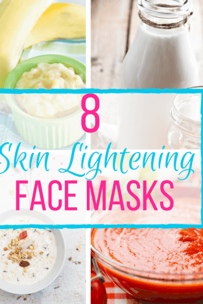 Look no further than your kitchen for safe and effective skin lightening ingredients. We've got 8 DIY face mask recipes to even out your complexion.