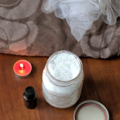 DIY Detox Bath Soak with Epsom Salt, Baking Soda & Essential Oils