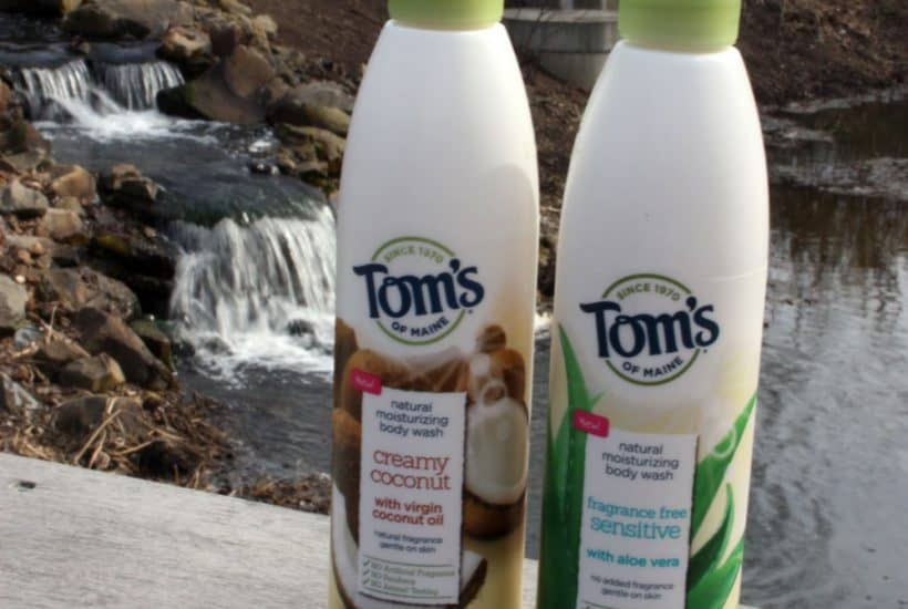 Tom's of Maine's new body washes and soaps give you the option to smell good naturally, which is awesome! No more yucky chemicals!