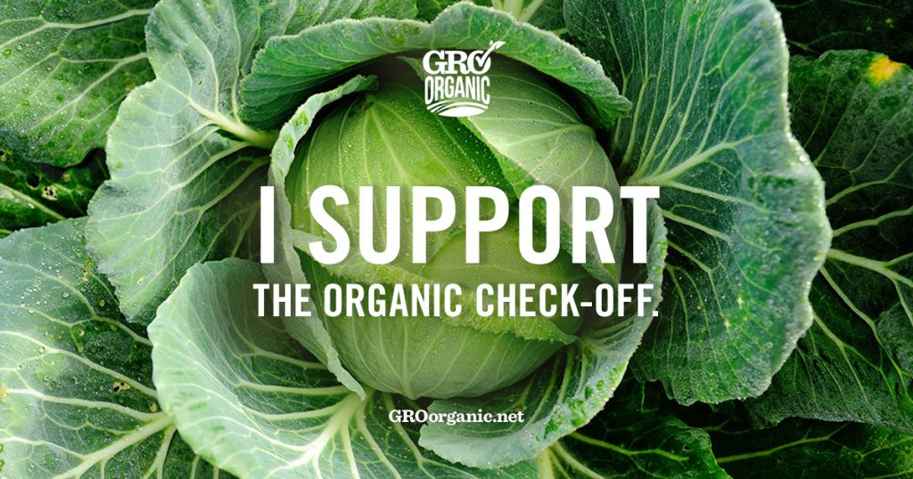 Want Affordable Organic Food For Your Family? Support the GRO Organic Check-Off Program