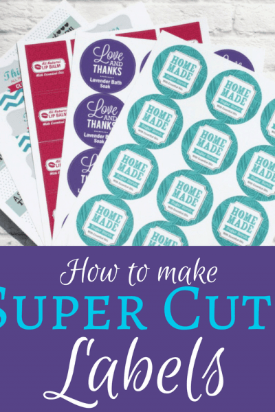 You work hard on your DIY Creations, so shouldn't your labels reflect that? Check out these Super Cute Labels to give your products a leg up on the competition...