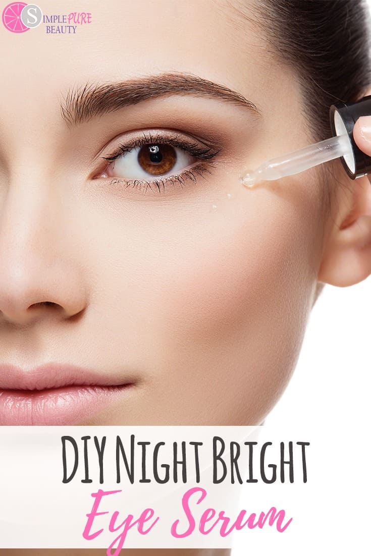 DIY Night Bright Eye Serum