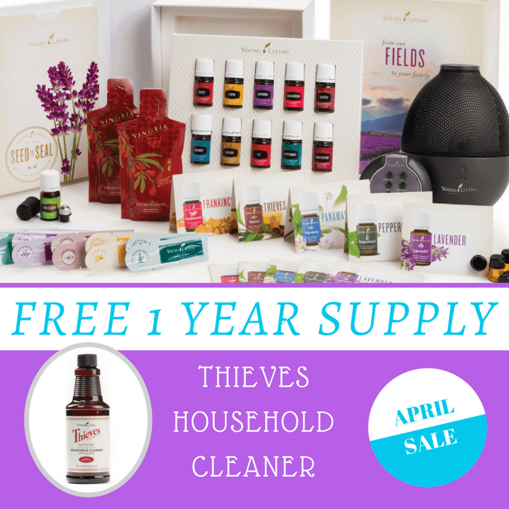 Free 1 Year Supply of Thieves Household Cleaner