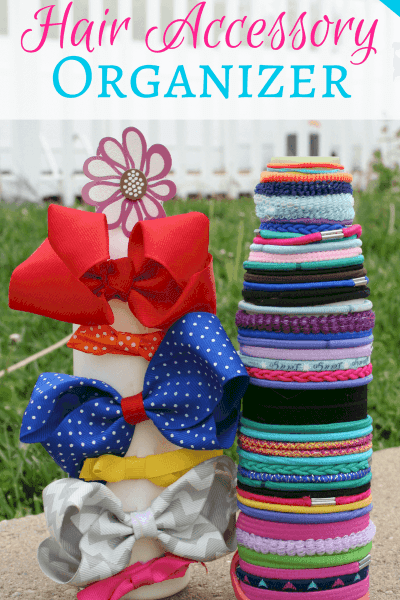 How to Make a Hair Accessory Organizer Using Recycled Materials