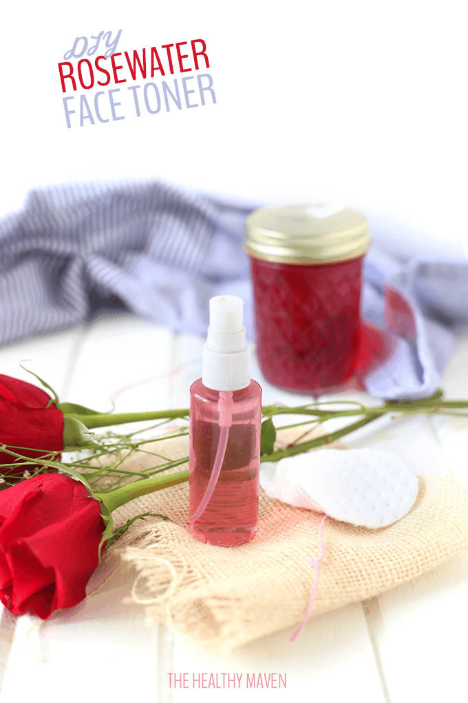 How To Make Rosewater + DIY Rosewater Face Toner