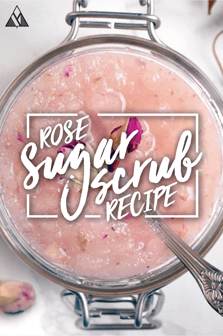 Why buy expense sugar scrubs when you can make them at home with just 2 ingredients?