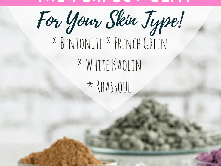 DIY skincare lets you find the perfect products for your needs. Learn about four types of clay and their benefits to make your own clay facial mask.
