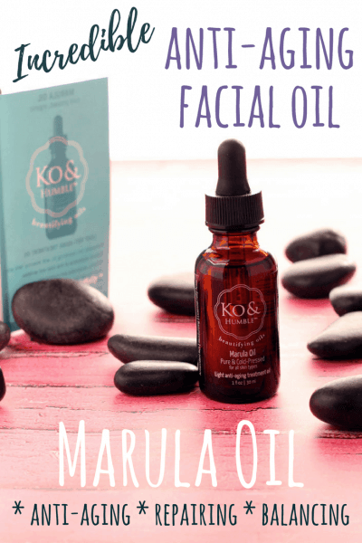 Powerful Anti-Aging Facial Oil to Smooth & Tighten!