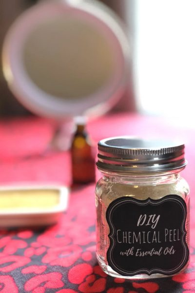 This DIY Chemical Peel recipe gives you a great refresher without harsh chemicals or spa pricing. #facial #facialpeels #chemicalpeel #chemicalpeels #diyfacemasks #antiaging #AntiWrinkle #diyskincare #skincaretips #skincare #Rejuvenate #EssentialOils #naturalbeauty