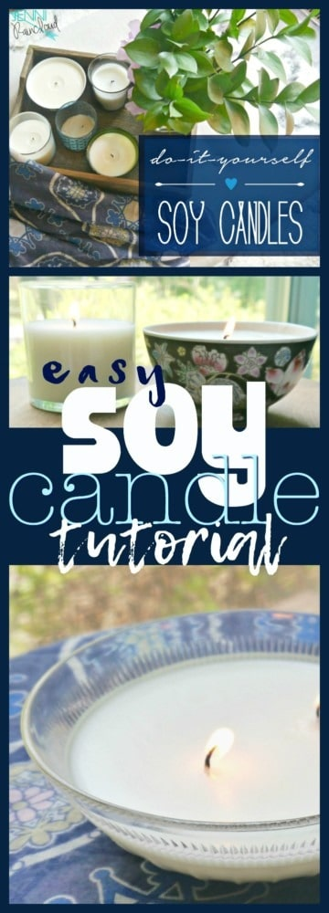 how to make homemade soy candles with essential oils