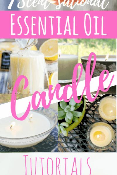 7 DIY Essential Oil Candle Recipe Tutorials