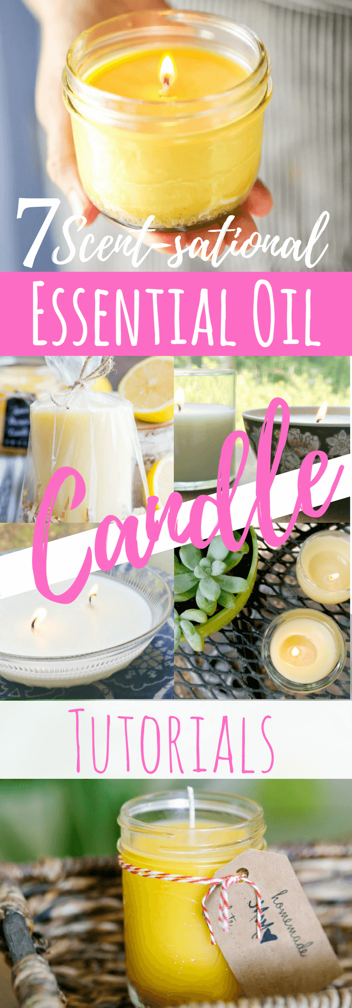 7 Diy Essential Oil Candle Recipe Tutorials Simple Pure Beauty