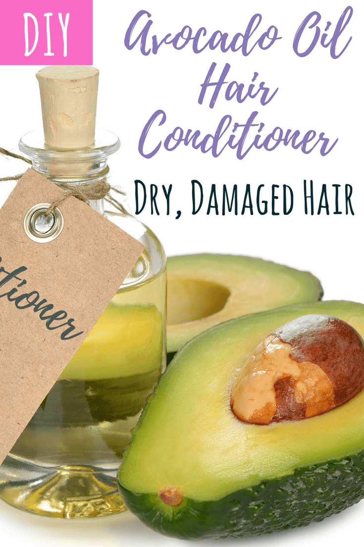 DIY healthy hair avocado oil hair conditioner for dry and damaged hair. DIY hair care fits whatever plagues you. These recipes for healthy hair are fast, easy, and non-toxic. Pick and choose to fit your own hair needs. #hairgrowth, #hairloss #haircare #healthyhair #dandruff #shampoonatural