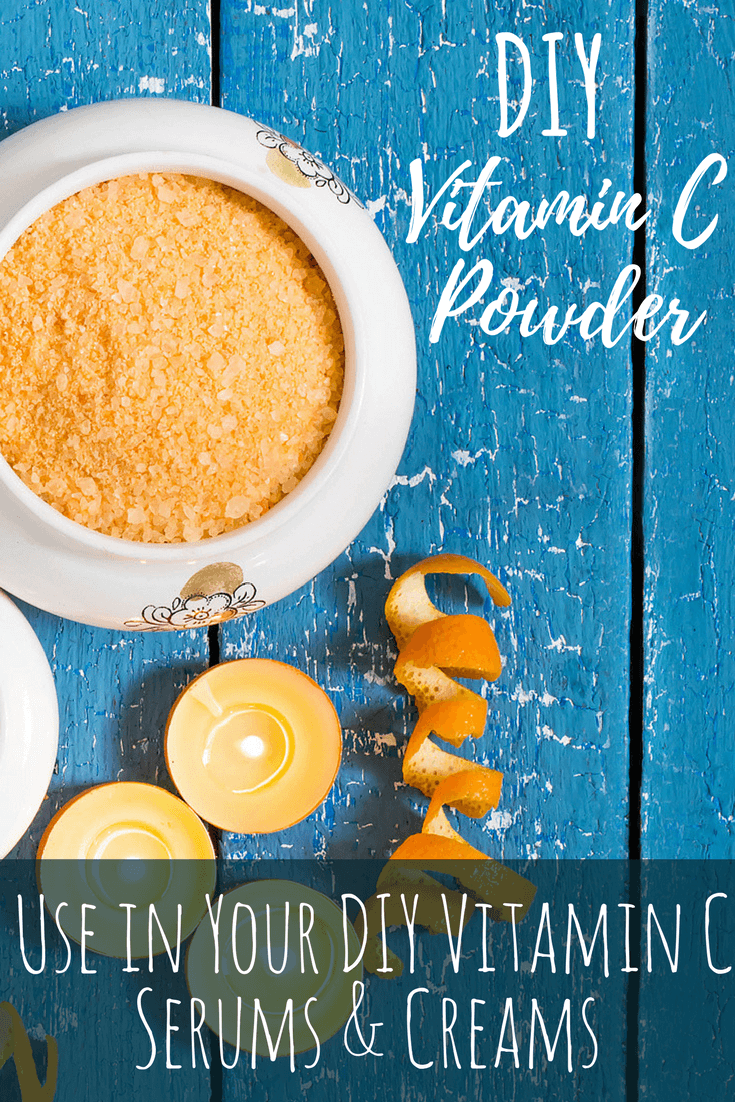 DIY Vitamin C powder is cost-effective and perfect for all of your skincare DIY recipes.