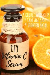 DIY vitamin C serum supports aging skin to keep it looking fresh.