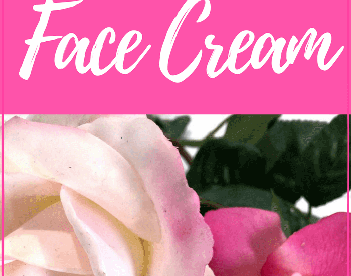 Anti-aging face cream in the store is expensive - and often not the best ingredients for you. This DIY Rose of Cypress Face Cream will be exactly what your skin needs. #antiaging #antiagingcream #AntiWrinkle #diyskincare #moisturizing  #skincare