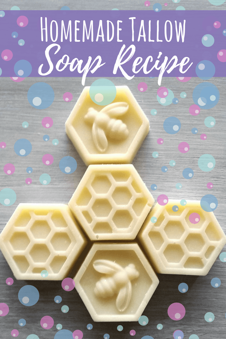 All Natural Homemade Tallow Soap Recipe