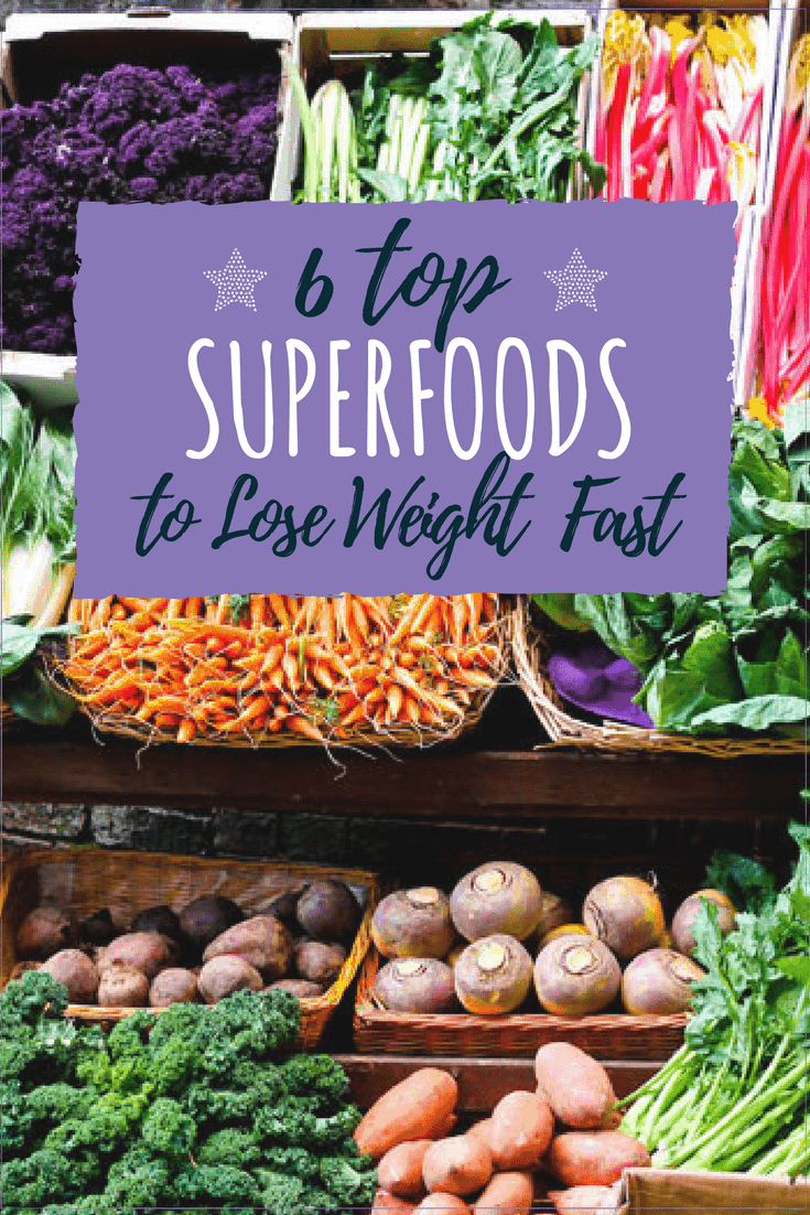 Ready to Lose Weight Fast and Increase your Energy? Check out these 6 SUPERFOODS that helped me lose 5lbs in one week! #weightlossfast #weightlossrecipes #loseweightfast #organicfood #superfood #ad