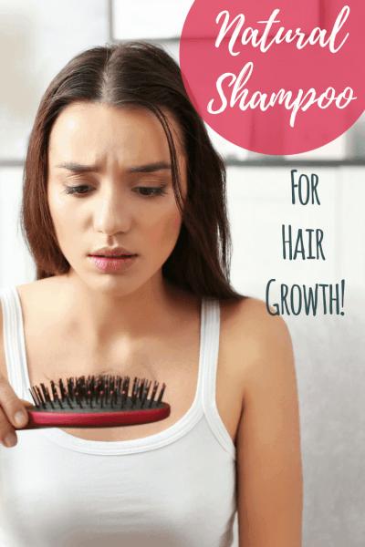 Natural Shampoo for Hair Growth