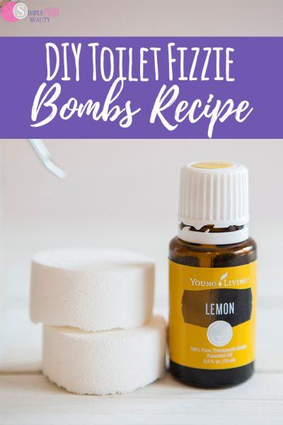 DIY Toilet Fizzie Bombs Recipe